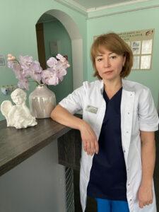 Громанчук Світлана Петрівна  к. мед. н, лікар акушер-гінеколог вищої категорії
